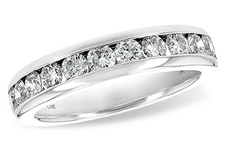Allison Kaufman 14k White Gold Channel set Band with 1.00tw Diamonds size 63/4 by Allison Kaufman