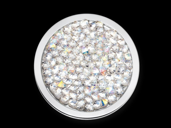 MiMoneda Swarovski Deluxe Stainless Steel Crystal Large by Mi Moneda