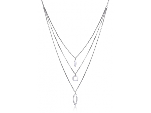 "Elle Sterling Silver Rolo necklaces 16"" with 2"" extension by Elle Jewelry"