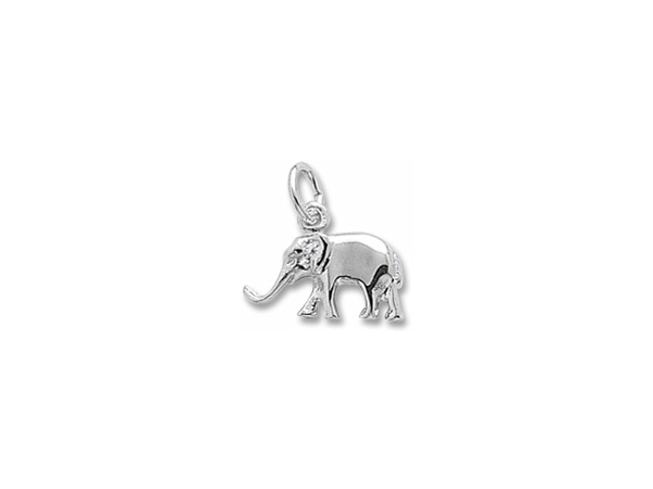 Sterling Silver Elephant charm by Rembrandt Charms
