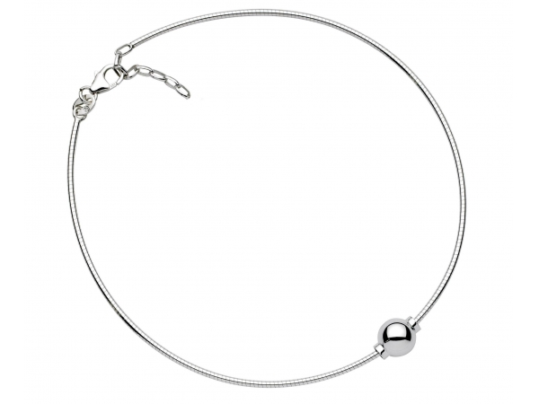 "Sterling Silver Cape Cop Anklet 9"" by Cape Cod Jewelry"