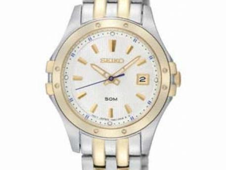 Seiko Ladies LeGrand Sport - Two-Tone - White Dial - Date - Bracelet