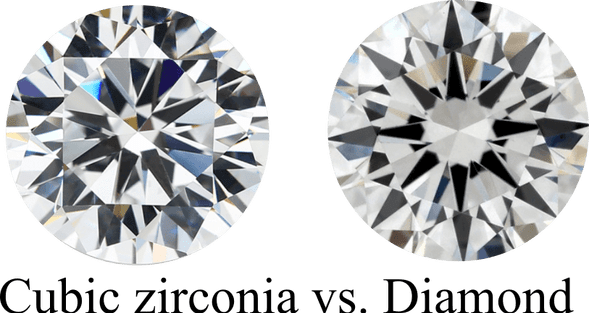 DIFFERENCES BETWEEN CUBIC ZIRCONIA AND DIAMOND